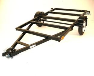 how to build a box trailer frame